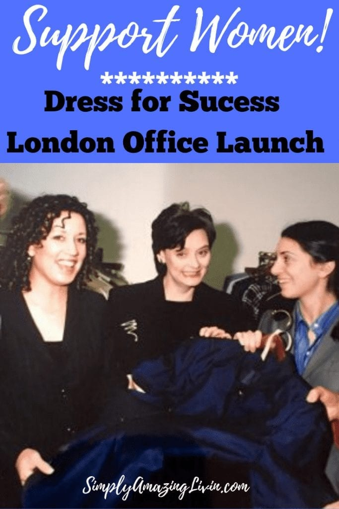 Dress for Sucess London Launch