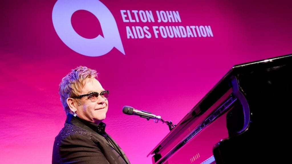 Elton John AIDS Foundation #SimplyAmazingLiving