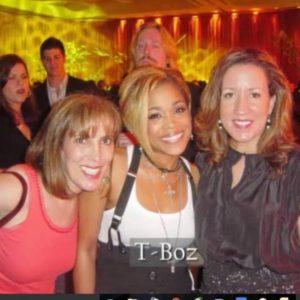 T-Boz at Magazine launch in Atlanta