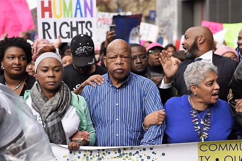 March for Social Justice and Women - Atlanta