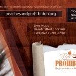 Peaches and Prohibition Fundraiser Speakeasy