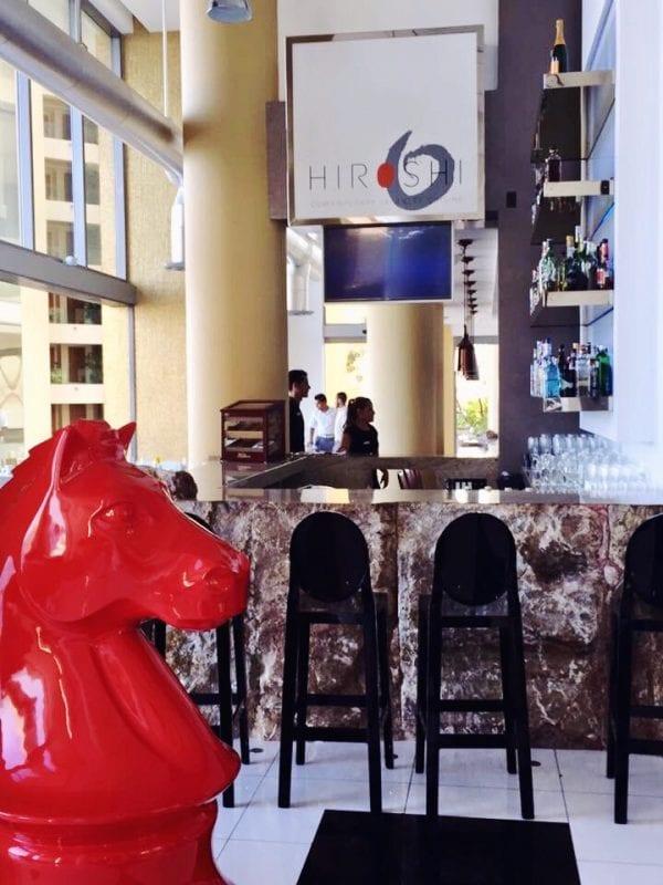 Hiroshi Japanese restaurant at Hotel Mousai