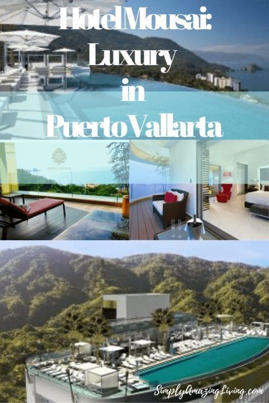 Luxury at Hotel Mousai in Puerto Vallarta Pin