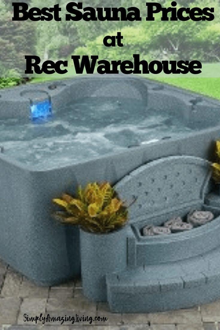 Rec Warehouse Sauna Pin