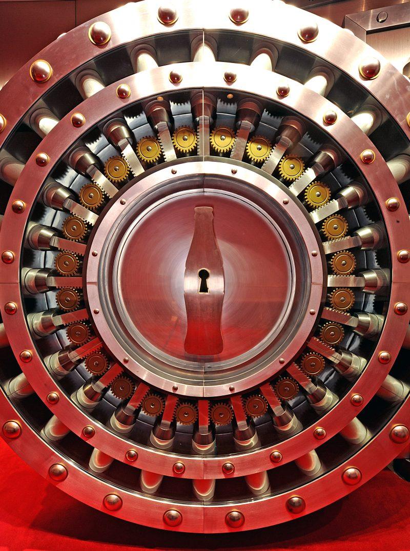 Coke - Vault door