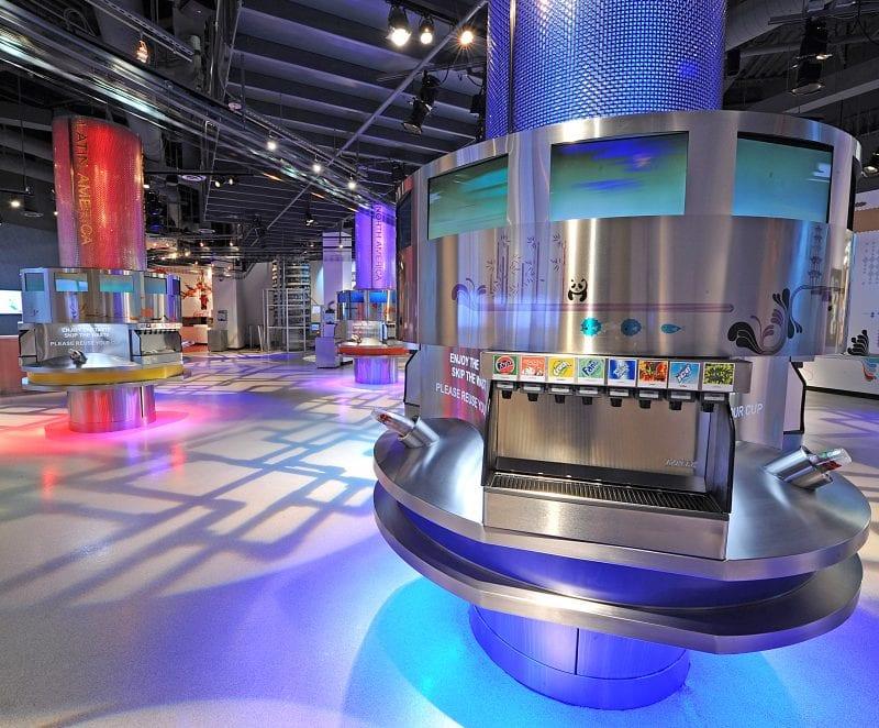 World of Coca-Cola Tasting Room