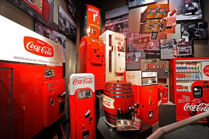 Vintage Coke Vending Machines