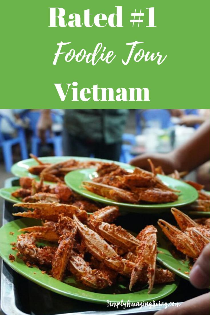 Vietnam Foodie Tour Pin