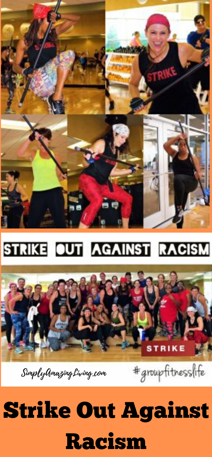 Strike Out Against Racism at Life Time Fitness
