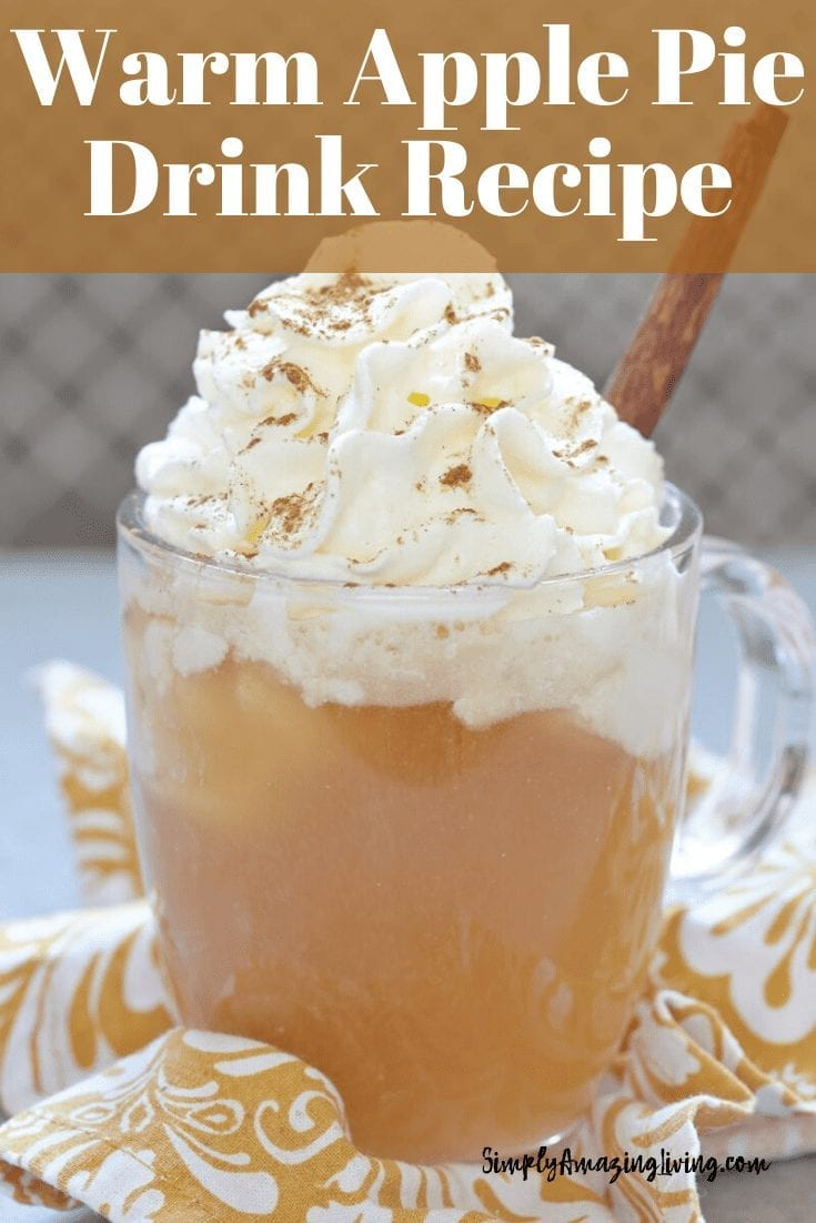 Warm Apple Pie Drink Recipe