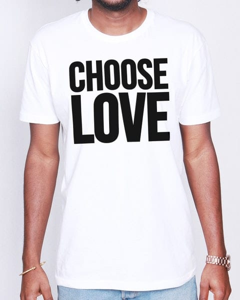 Choose Love George Micahel RED campaign