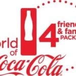 Atlanta World of Coca-Cola Friends and Family Four Pack