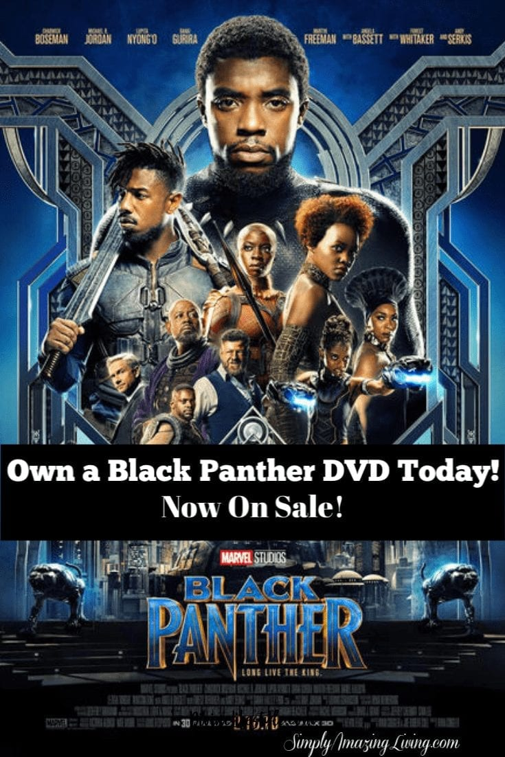 Black Panther DVD On Sale
