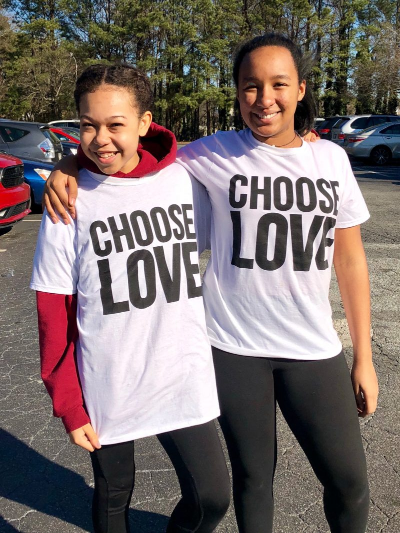 Choose Love #simplyamazingliving #chooselove