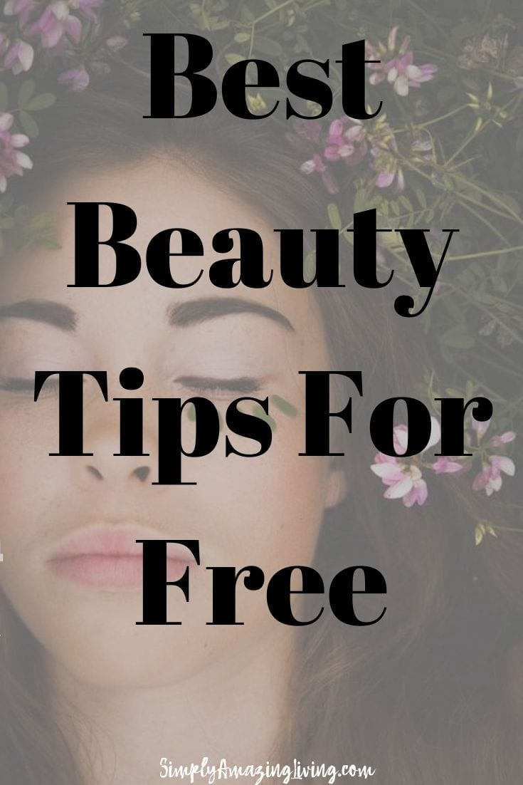 Best Beauty Tips for Free Pin