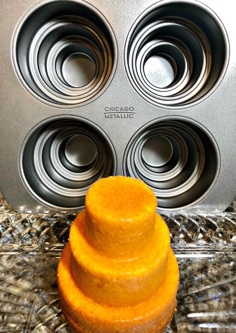 Chicago Metallic Mini 3 tier cake pan