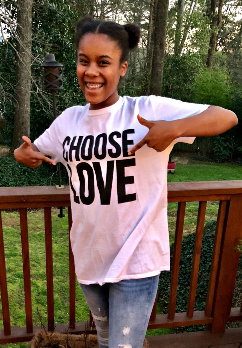Simply Amazing Living's Choose Love Campaign