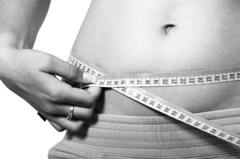 Weight loss goals.
