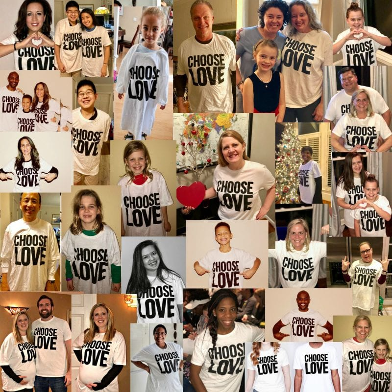Choose Love Campaign - Simply Amazing Living