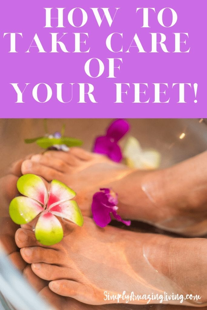 How to Take Care of Your Feet Pin 2