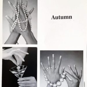 Autumn hand modeling