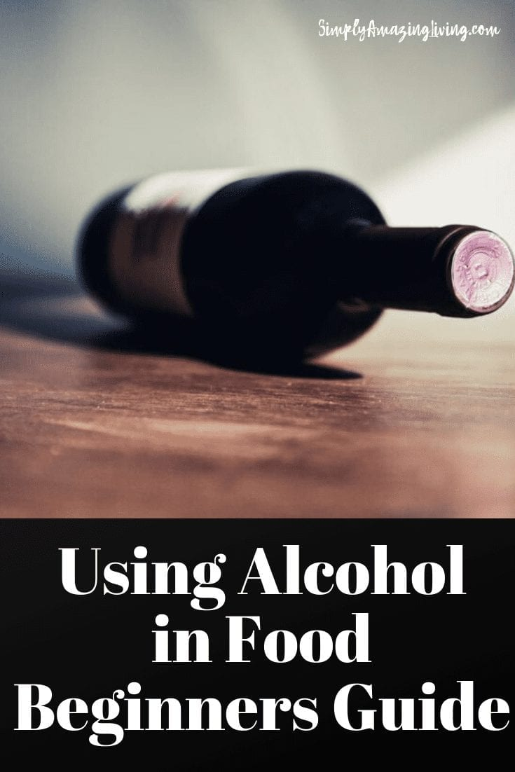 Using Alcohol in Food