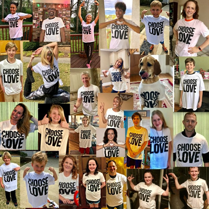 Choose Love Campaign March Collage - #ChooseLove