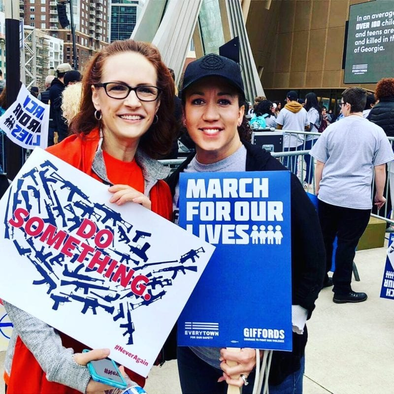 March For Our Lives Atlanta - call to end gun violence