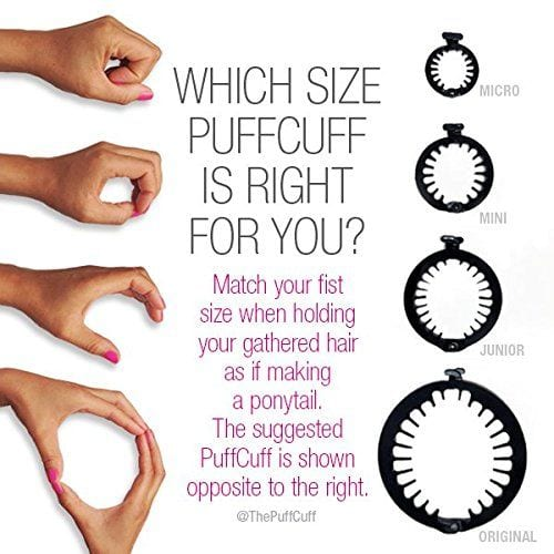 Sizes of The PuffCuff