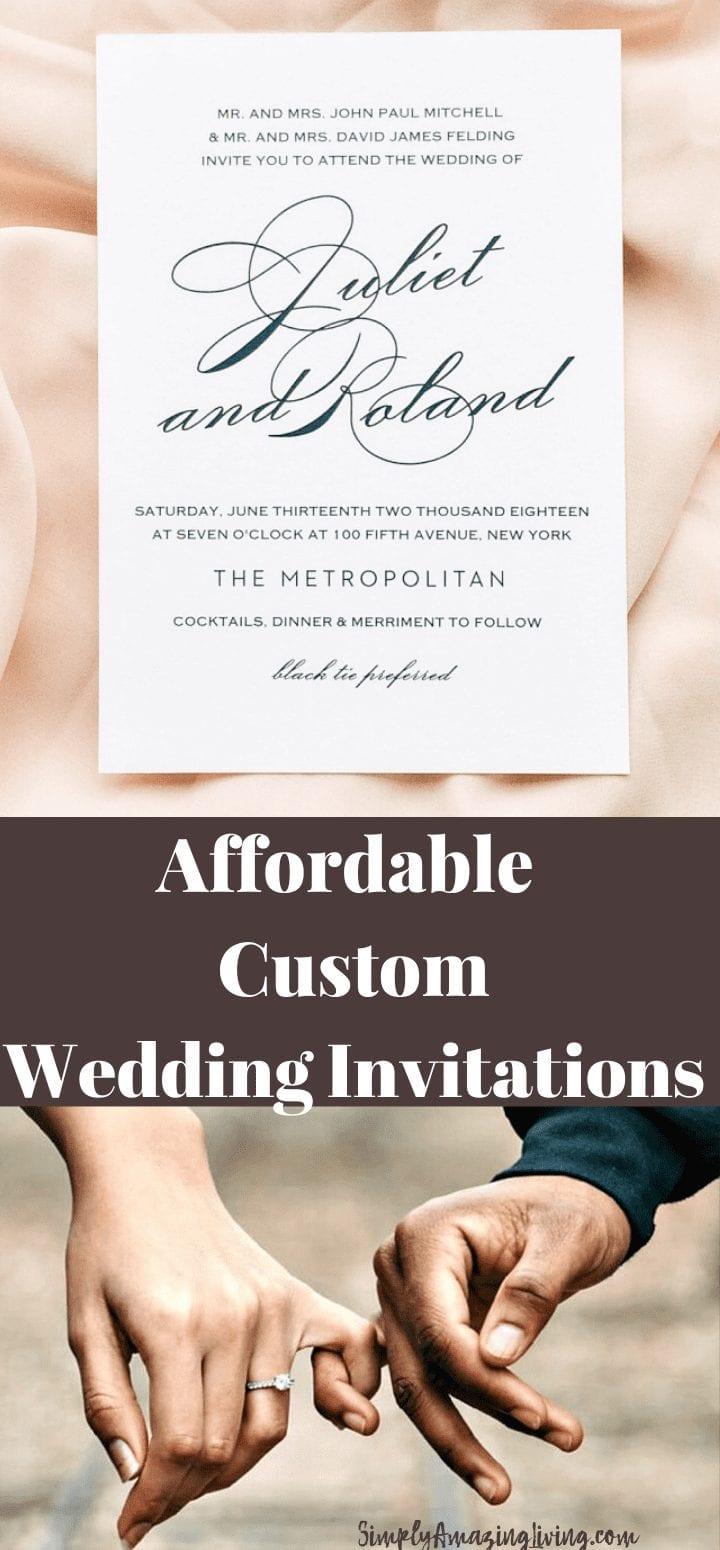 Wedding Invitation - Basic Invite Wedding Invitations Pin
