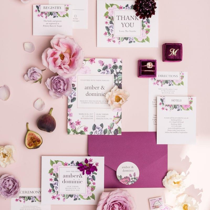 Wedding Invitation - Basic Invite Wedding Invitations