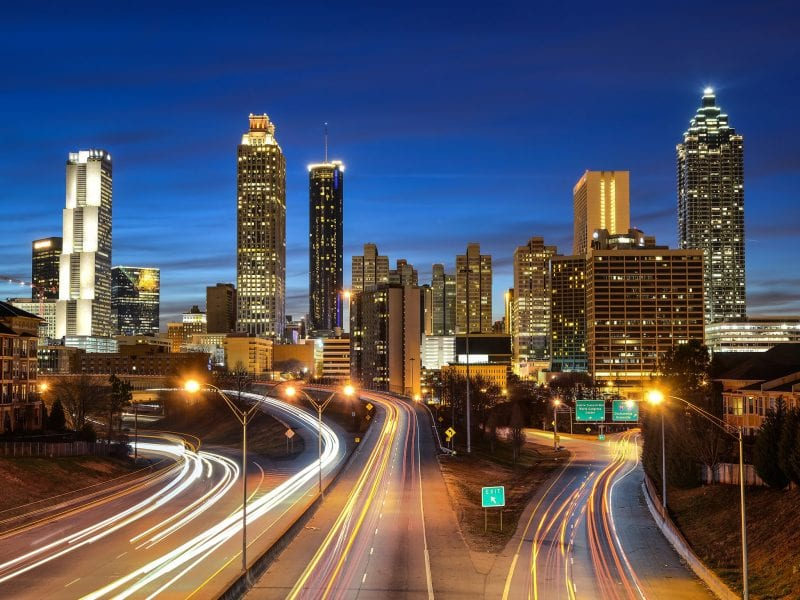 Why milinneals are moving to Atlanta