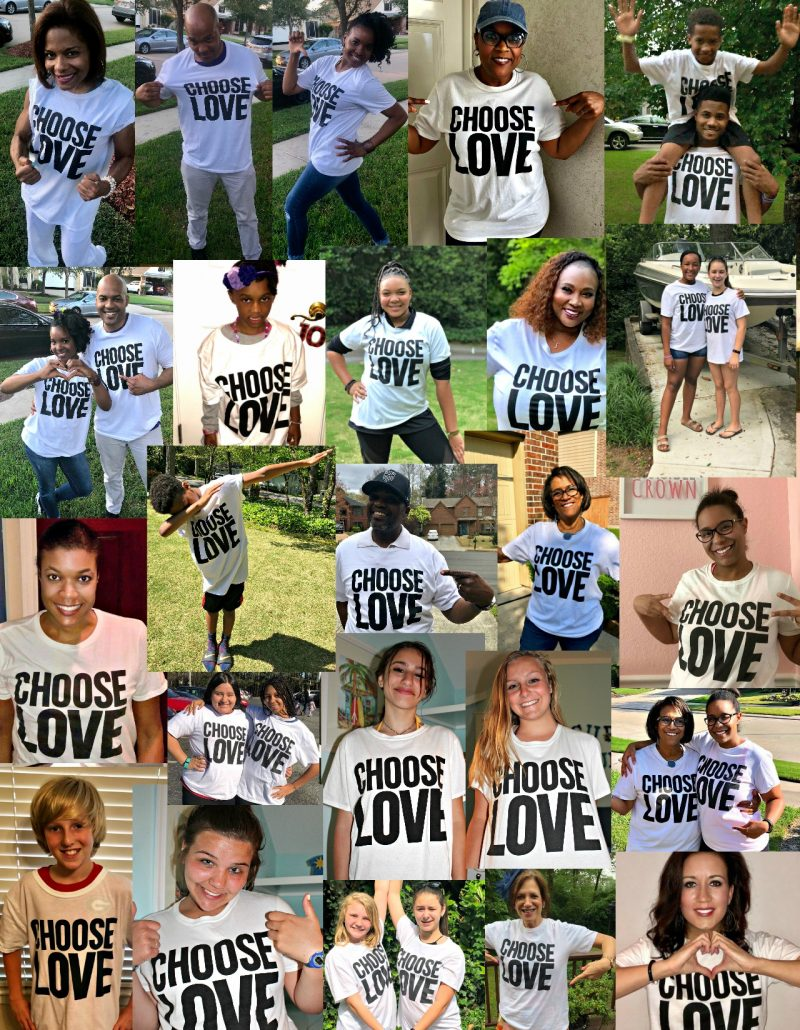 Choose Love #ChooseLove #SimplyAmazingLiving