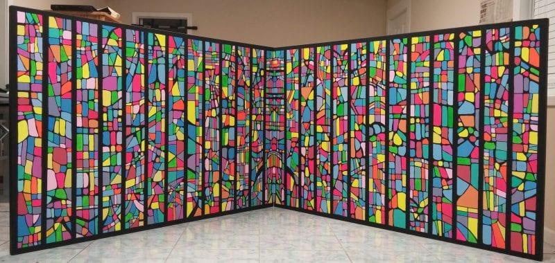 Bombay Sapphire Artisan Series exhibit at Zucot Gallery
