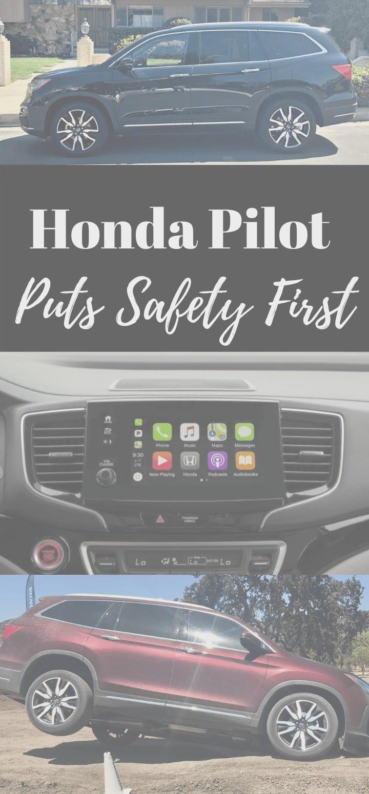 Honda Pilot Safety First Pin