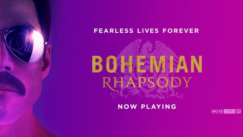 Bohemian Rhapsody Movie - Freddie Mercury and Queen