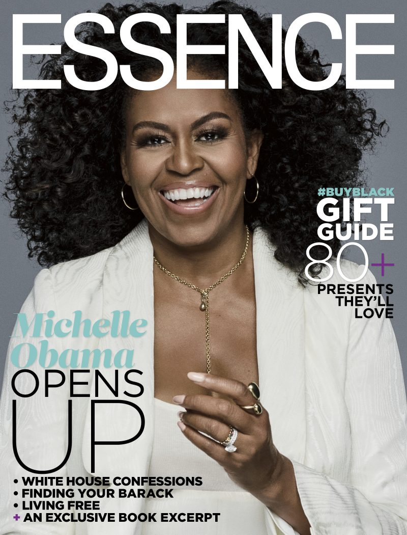 Michelle Obama on cover of ESSENCE Magazine