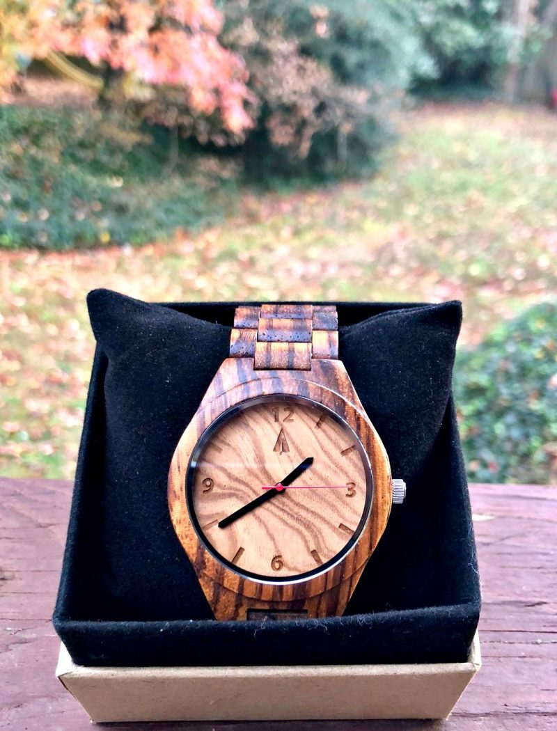 watch giveaway - All Zebrawood + Olive Ash Watch by Treehut #Giveaway