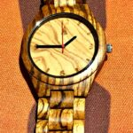 watch giveaway - Treehut's All Zebrawood + Olive Ash watch