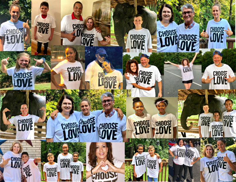 Love overrules | Happy New Year Choose Love Collage #ChooseLove