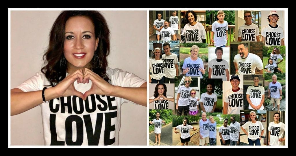 Order your Choose Love t-shirt or tank top