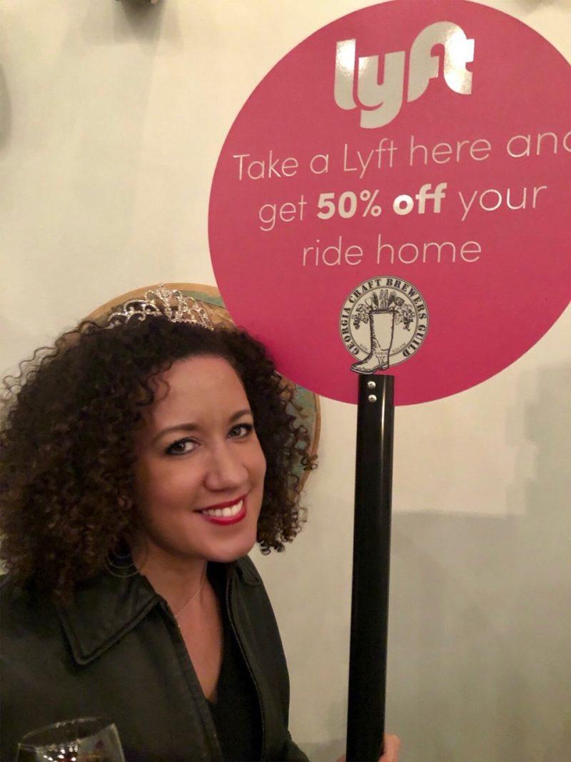 Ride Smart Atlanta with Lyft #LYFTGABEER