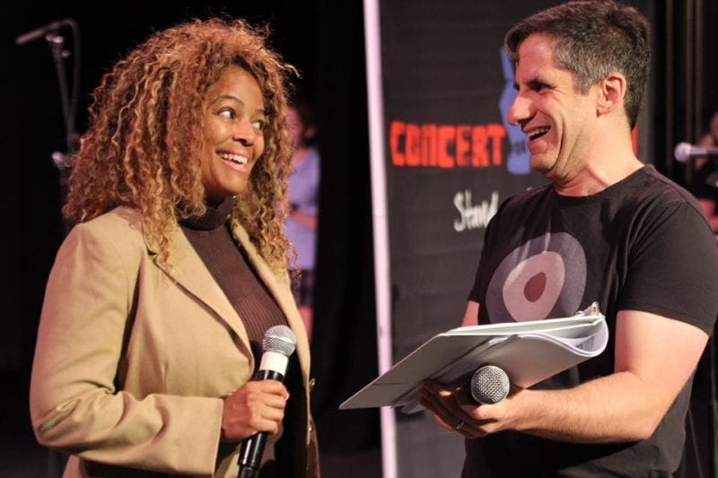Kim Fields and Seth Rudetsky | Credit: Concert for America