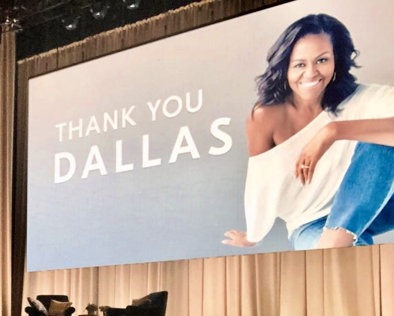 Michelle Obama Becoming #IAmBecoming Dallas, TX