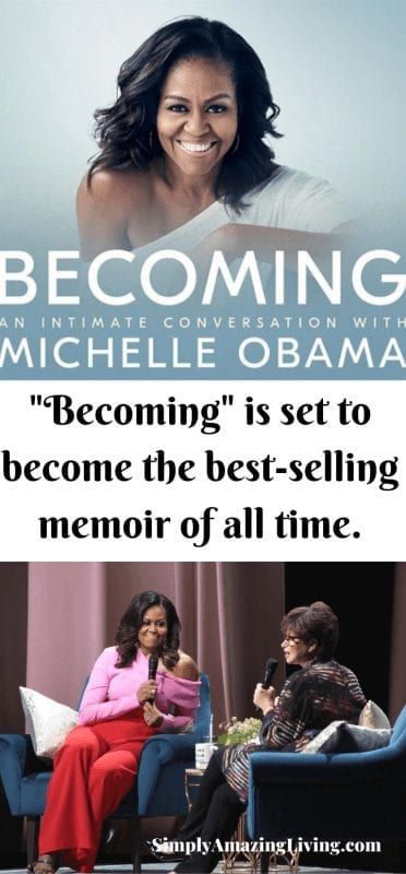 Becoming by Michelle Obama post pin