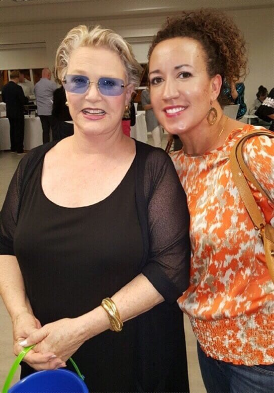 Sharon Gless at Concert for America in Atlanta