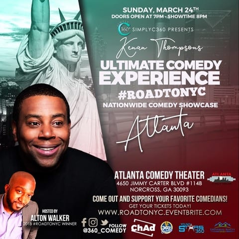 Kenan Thompson's Ultimate Comedy Experience #ROADTONYC | National Comedy Showcase #SimplyAmazingLiving