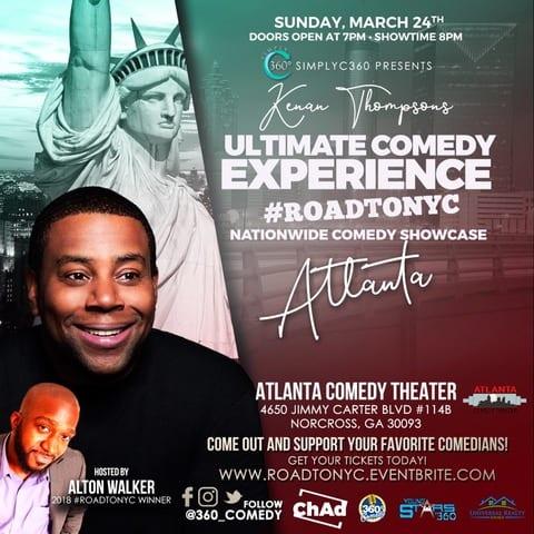 Kenan Thompson's Ultimate Comedy Experience #ROADTONYC | National Comedy Showcase #SimplyAmazingLiving