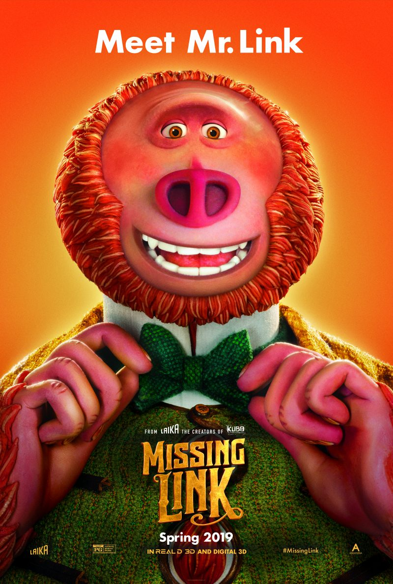 Missing Link in Theatres April 12! | #MissingLink | #SimplyAmazingLiving