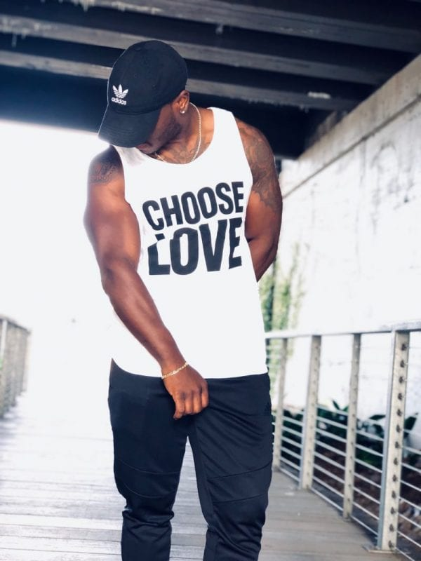 Choose Love t-shirt for George Michael tribute article